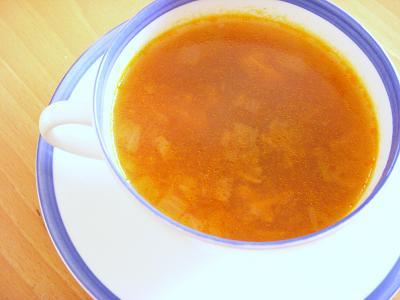 キノコたっぷりピカントスープ
