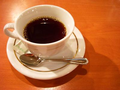 セットドリンクのコーヒー