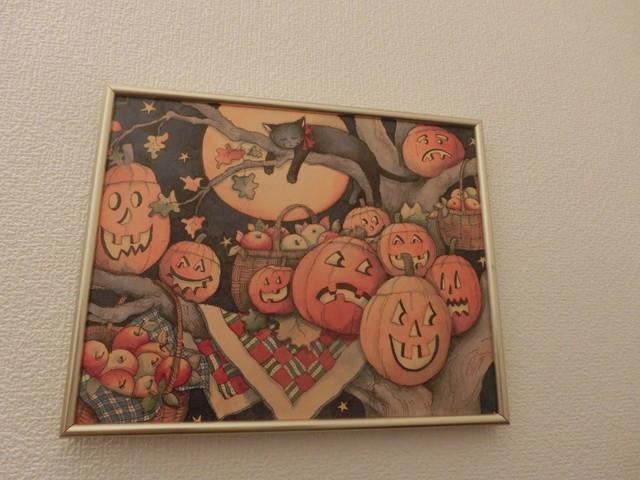2013年 9月 ハロウィン飾り 028