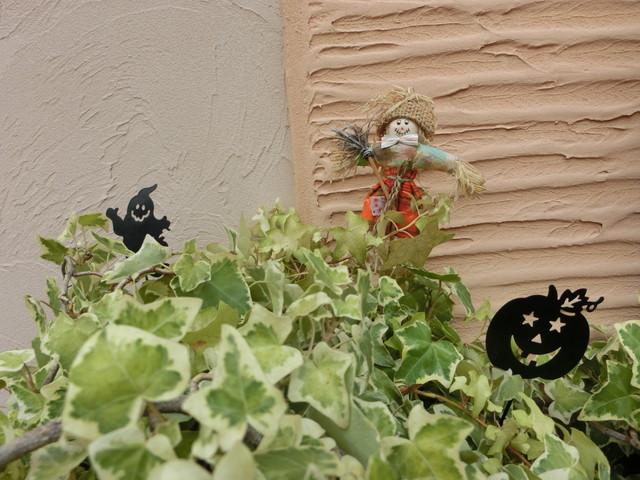 2013年 9月 ハロウィン飾り 013