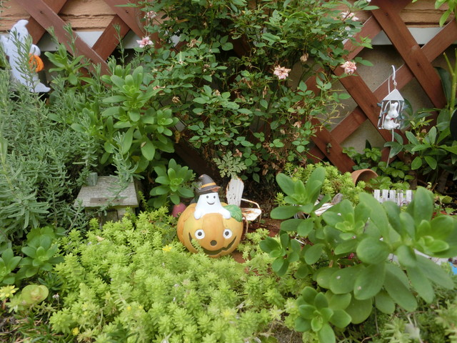 2013年 9月 ハロウィン飾り 011