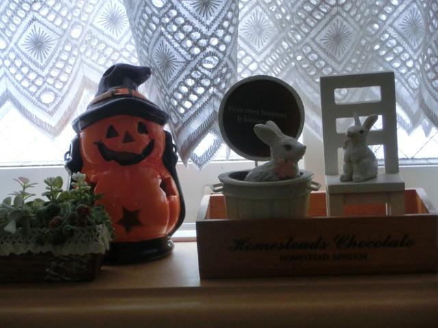 2013年 9月 ハロウィン飾り 024