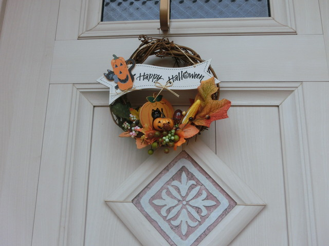 2013年 9月 ハロウィン飾り 018
