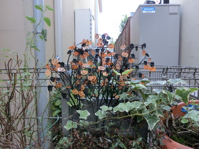 2013年 9月 ハロウィン飾り 016