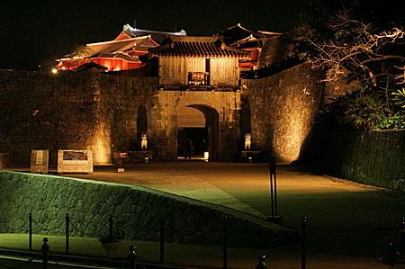 首里城夜景