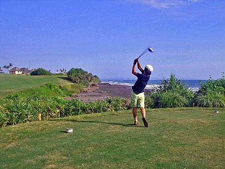 golf海へ