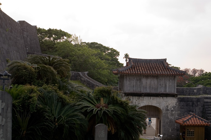 首里木の門