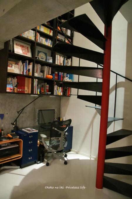 0711-14階段と書斎