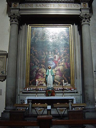 教会中の絵