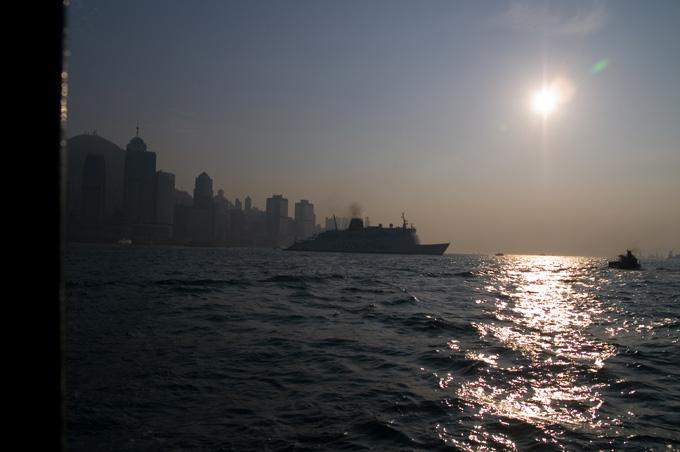 逆光の香港