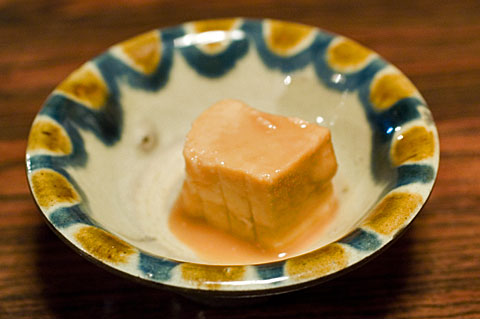 あんつく豆腐よう