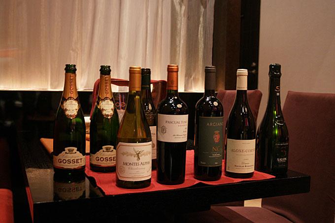 ワイン並び