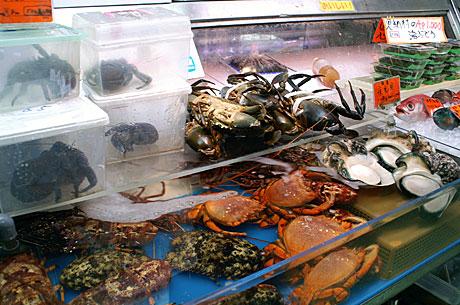 市場甲殻類
