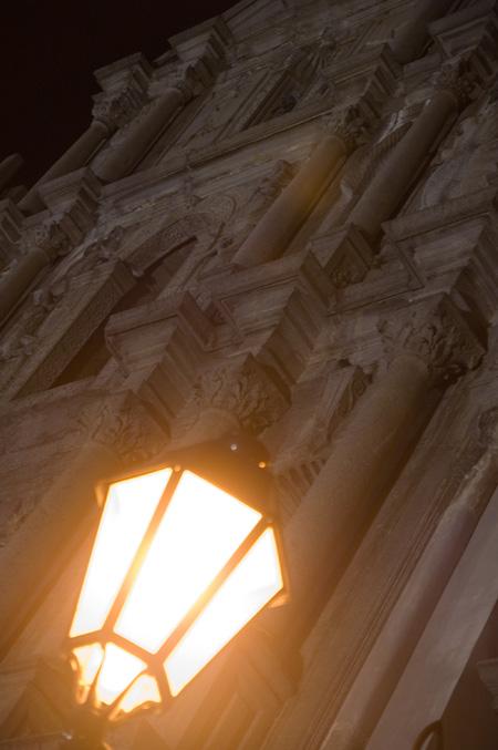 天主堂ライトアップ