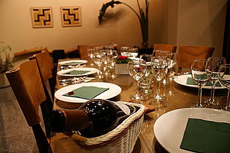 料理教室テーブル