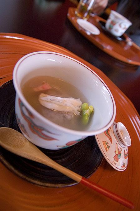 白魚蒸し物