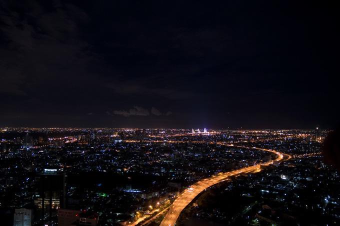 広がる夜景