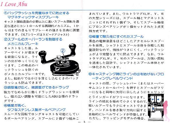 ABU XLT 使用説明書 オートマグ★彡