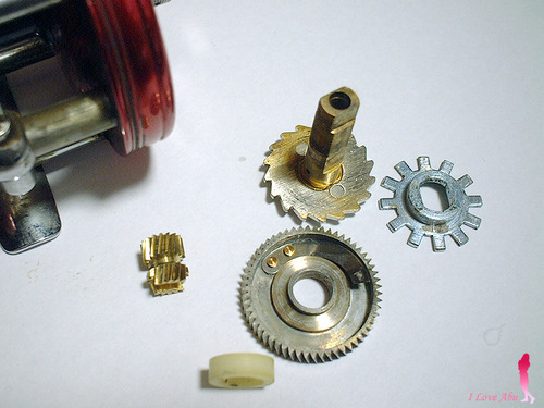 OLD ambassadeur 5000 etc Gear ratio