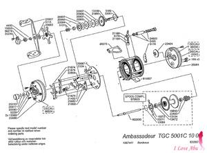 Abu ambassadeur TGC 5001C