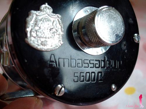 ABU ambassadeur 5600C 赤ベロ 77年