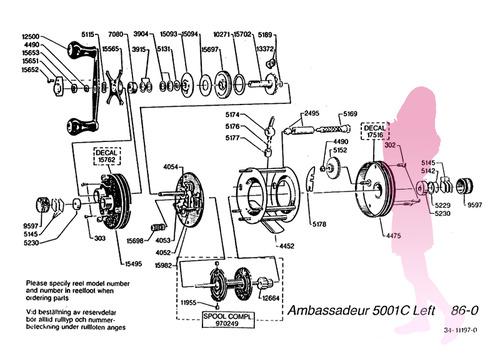 ABU ambassadeur 5001C 86y schematic