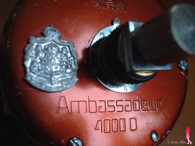ABU ambassadeur 4000D KSR★彡