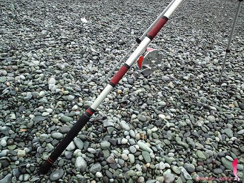 ダイワ 投げ竿 イレブン & オリムピック 横転式タイコリール