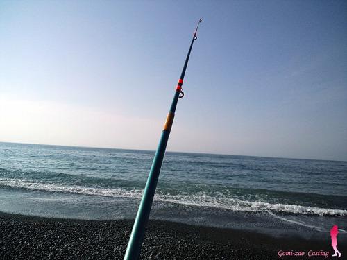 シマノの投げ竿 バンタムエース13