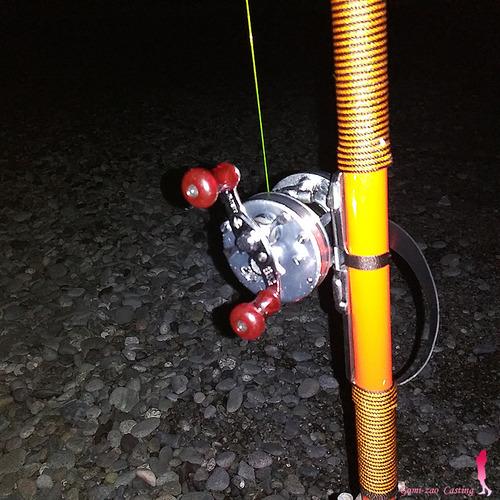 OLYMPIC 投げ竿 フレンド 360 夜の投げ釣り
