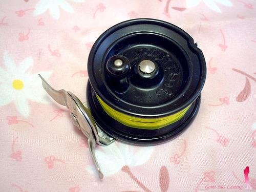富士工業 fuji 横転式タイコリール 片軸リール