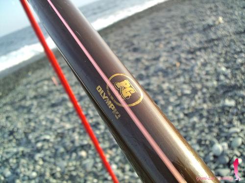 オリムピック オールド投げ竿 スーパーキャスティング 390