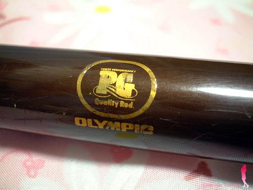 OLYMPIC オールド投げ竿 スーパーキャスティング 390