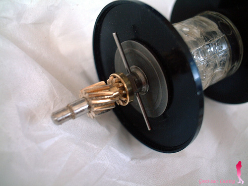 ABU4000D ハイスピードギヤのピニオン加工