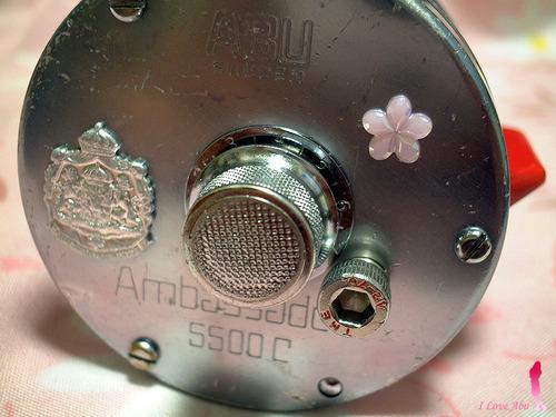 アブ オールドアンバサダー 5500C ハイスピード化改造