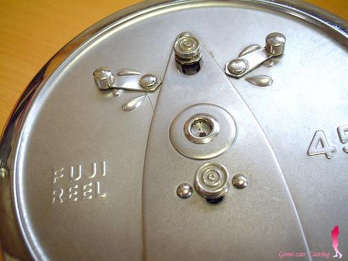 横転式タイコリール Fujiリール 45