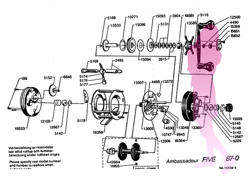 ABU ambassadeur FIVE 87-0 schematic