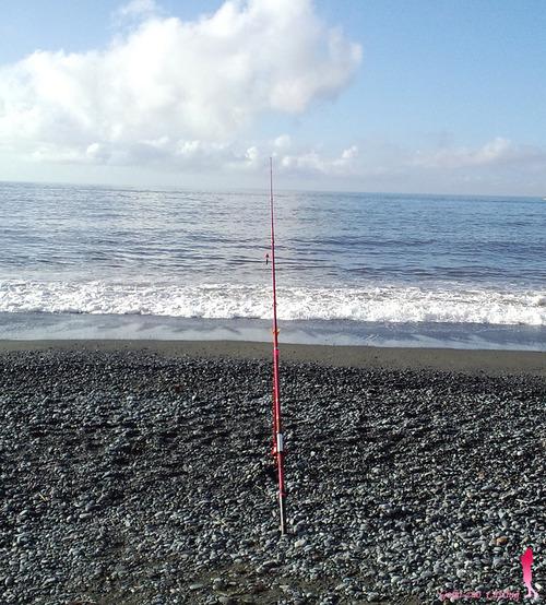 ダイワの赤竿で海へ♪