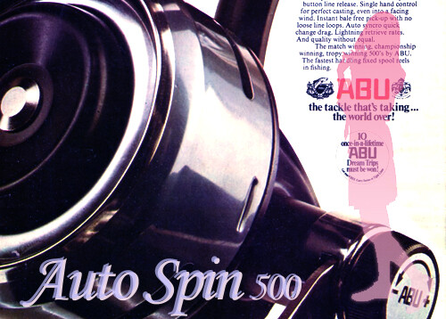 ABU Auto Spin 500