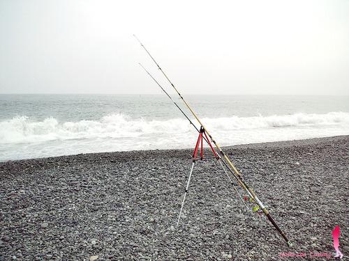 オリムピック 投げ竿 キング ジュニア13 ごみ竿★彡