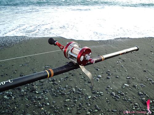 ABU ambassadeur & クリーンカーボン CASTING 360 投げ釣り
