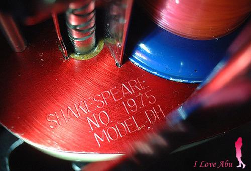 シェイクスピア 1975 フリースプール MODEL DH