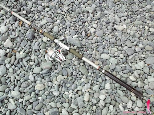 ダイワの投げ竿 スポーツ360で遠投サビキ釣り