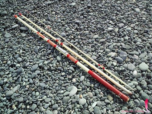 ダイワ ビーチパワー 360 ごみ竿ですが 投げ釣りに★彡