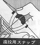 富士 遠投用スナップ Fujiガイド