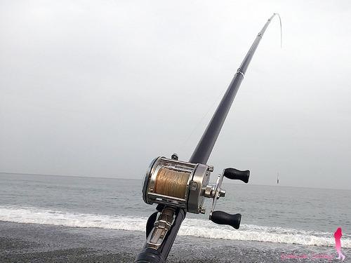 ベイトリールで投げ釣り シマノ バンタム