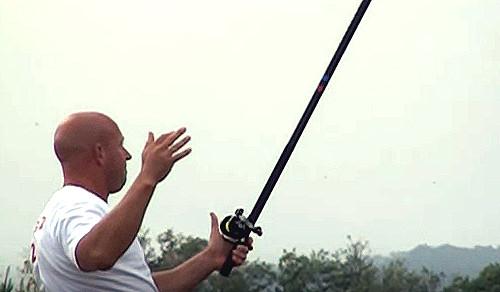 ダイワの投げ竿 両軸サーフキャスティング