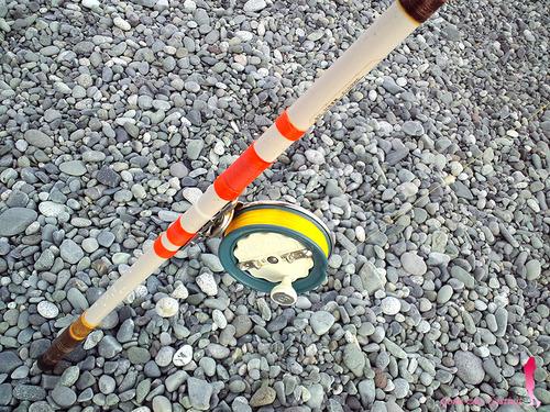富士のタイコリールで投げ釣り遠投!?