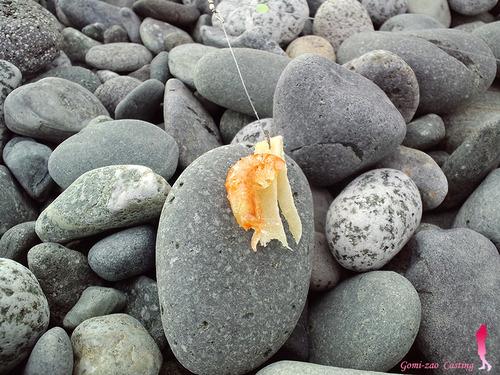 投げ釣りに使える代用エサの模索・・・