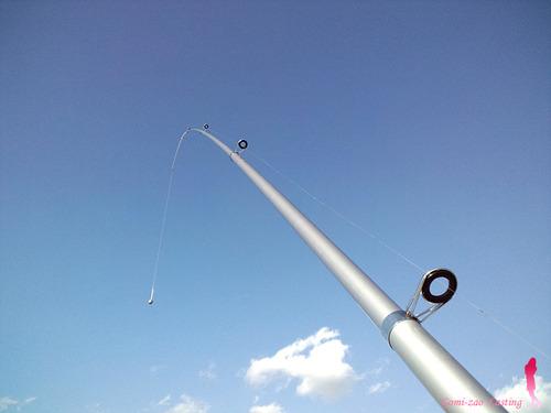 わくわく両軸 投げ釣りセット♪ ブルーサーフ420
